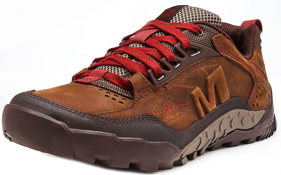 Merrell-Annex-Track-Low-Trainers-in-Cloudy-amp-Clay-Brown-amp-Sodalite-Blue thumbnail 7