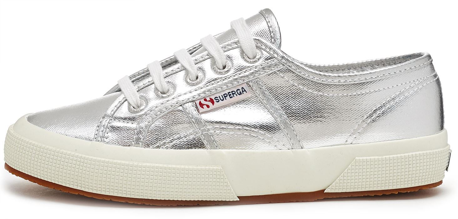 superga 2750 cotmetu women metallic trainers shoes in gold pink silver ebay. Black Bedroom Furniture Sets. Home Design Ideas