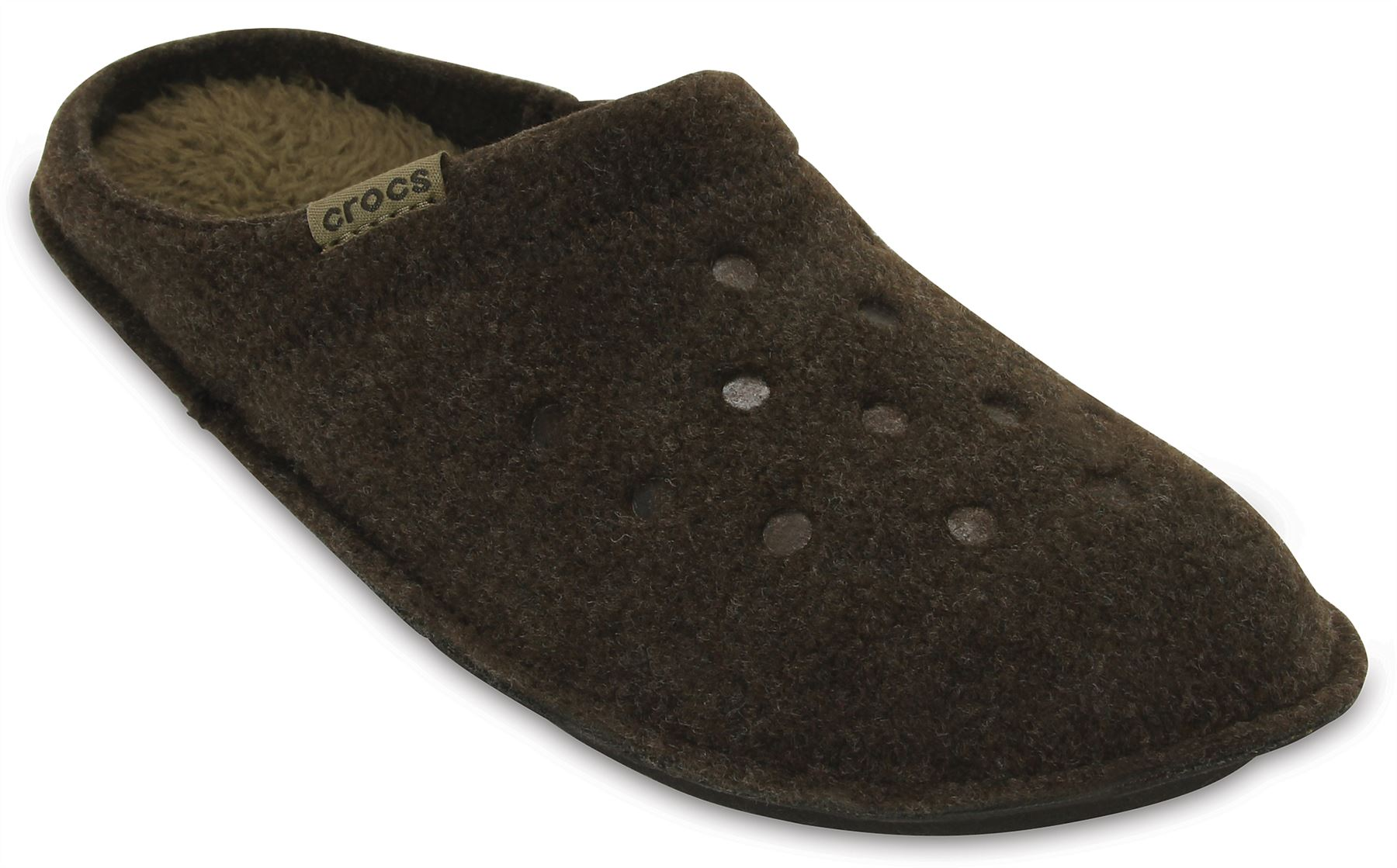 ca3bd4cdbe29 Crocs Classic Slipper Fleece Lined Roomy Fit Clogs Shoes in All ...