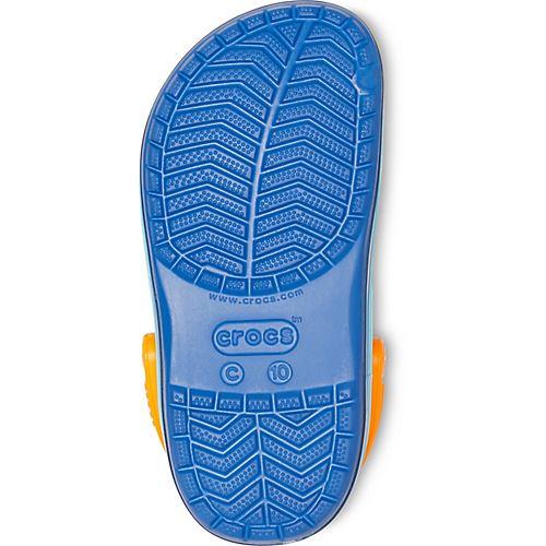 Crocs-Kids-Crocband-Rainbow-Wavy-Sequin-Relaxed-Fit-Clogs-Shoes-Pink-Blue-Orange thumbnail 23