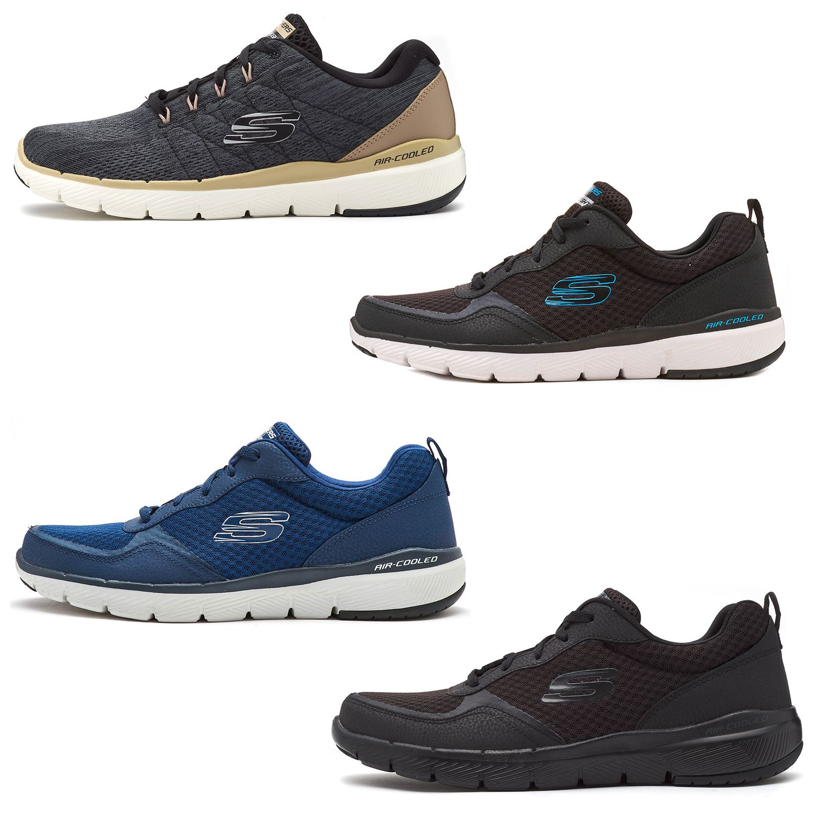 skechers foam trainers