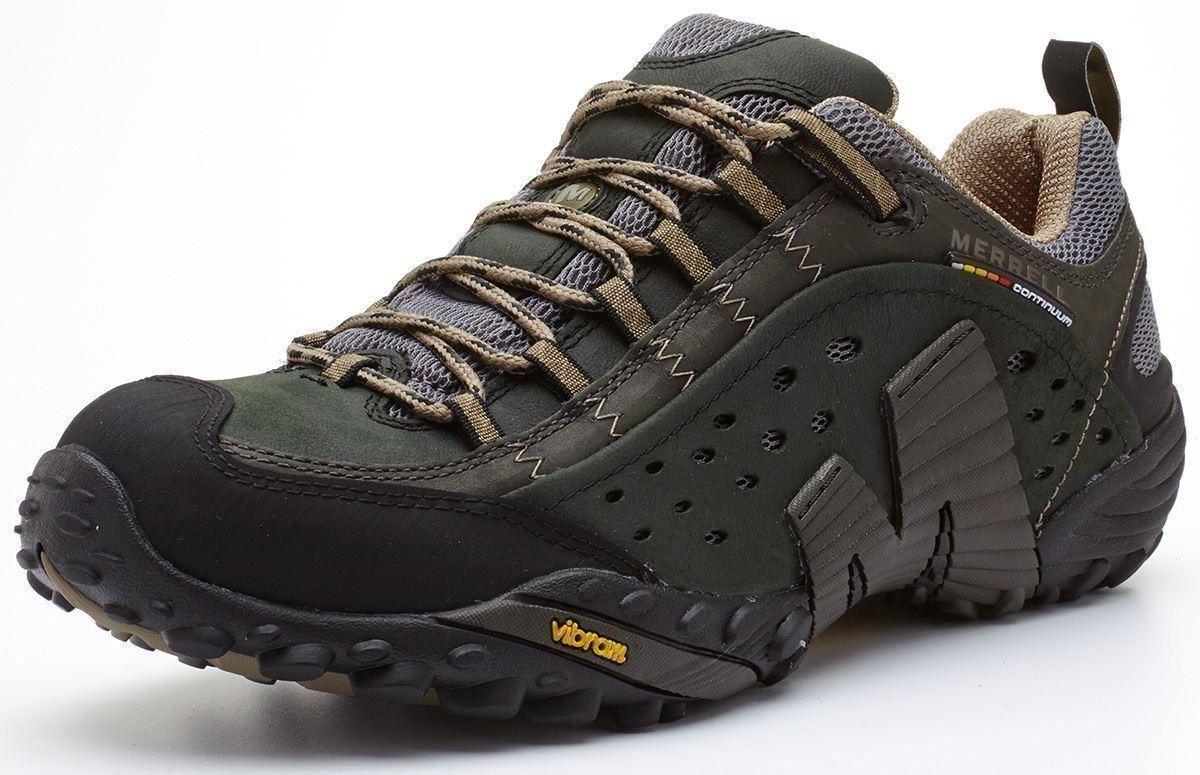 Merrell-Intercept-Hiking-Shoes-in-Moth-Brown-amp-Blue-Wing-amp-Black thumbnail 3