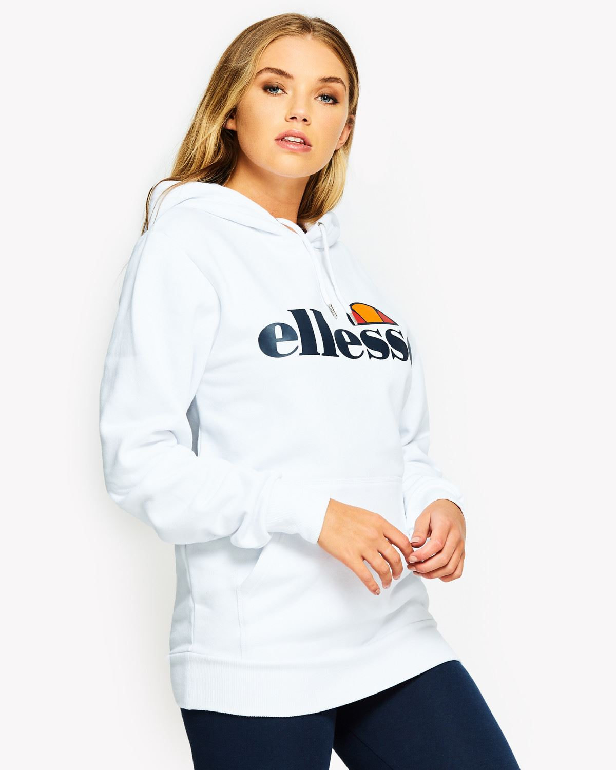 ellesse torices hodded tracksuit women sweat top sgs03344 ebay. Black Bedroom Furniture Sets. Home Design Ideas