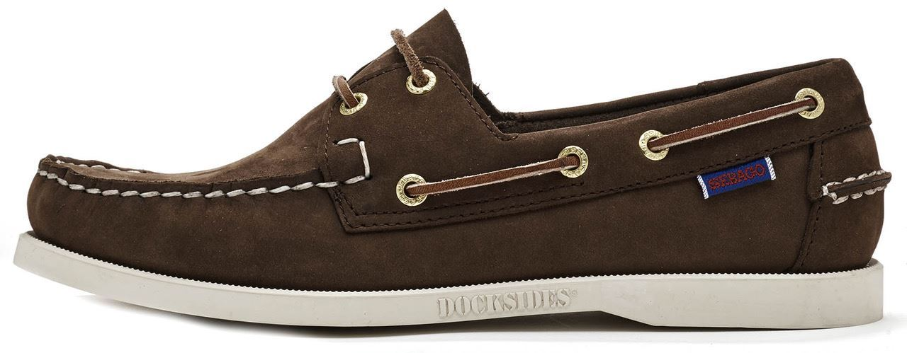 Sebago-Docksides-NBK-Suede-Boat-Deck-Shoes-in-Navy-Blue-amp-Coral-amp-Dark-Brown thumbnail 14