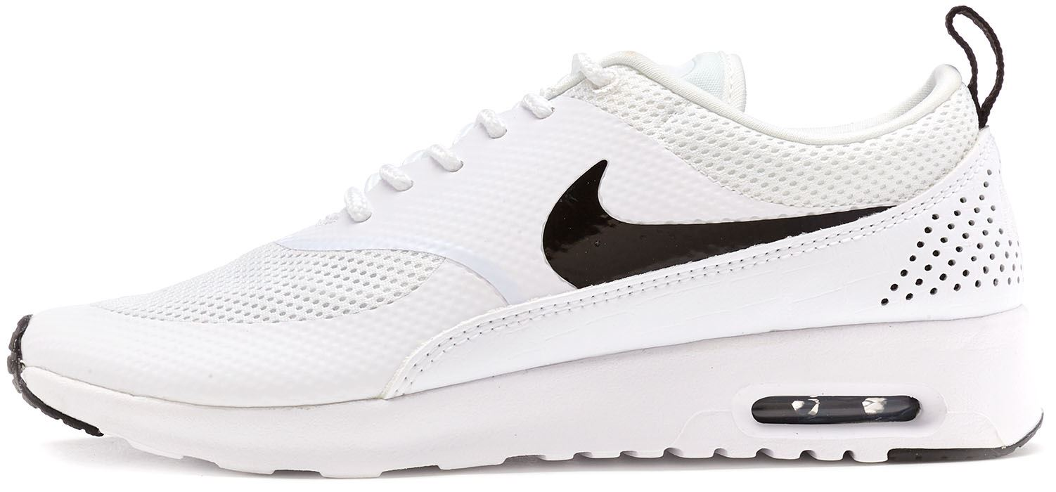 huge selection of c58de ddf53 Details about Nike Air Max Thea Women Trainers in White   Black 599409 103