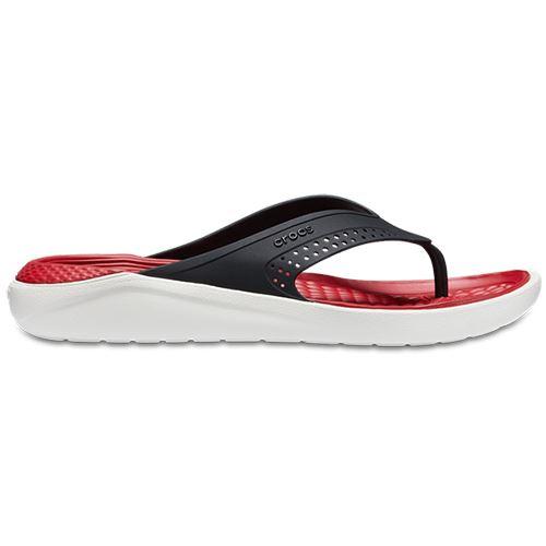 4f930cc6fff8a Men s Crocs Literide Flip M Flip Flops in Red UK 6   EU 39 - 40