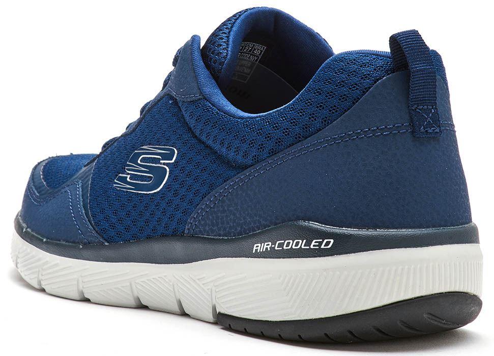 Skechers-FLEX-ADVANTAGE-3-0-con-Cordones-Fitness-Correr-Entrenadores-de-espuma-de-memoria miniatura 16