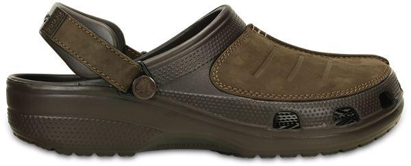 Crocs-Yukon-Mesa-Clog-Shoes-Sandals-in-Khaki-Espresso-Brown-amp-Navy-Blue-203261 thumbnail 9