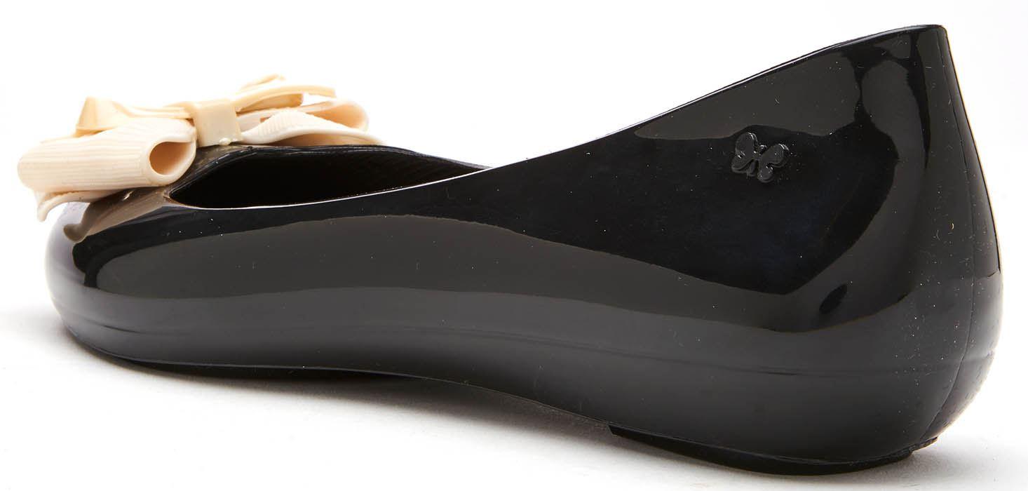 Piatto Della Ribbon Scivolare Gelatina Sul Ballerina Zaxy Pop Bow Scarpe Nero n8ZRYqx4Tx