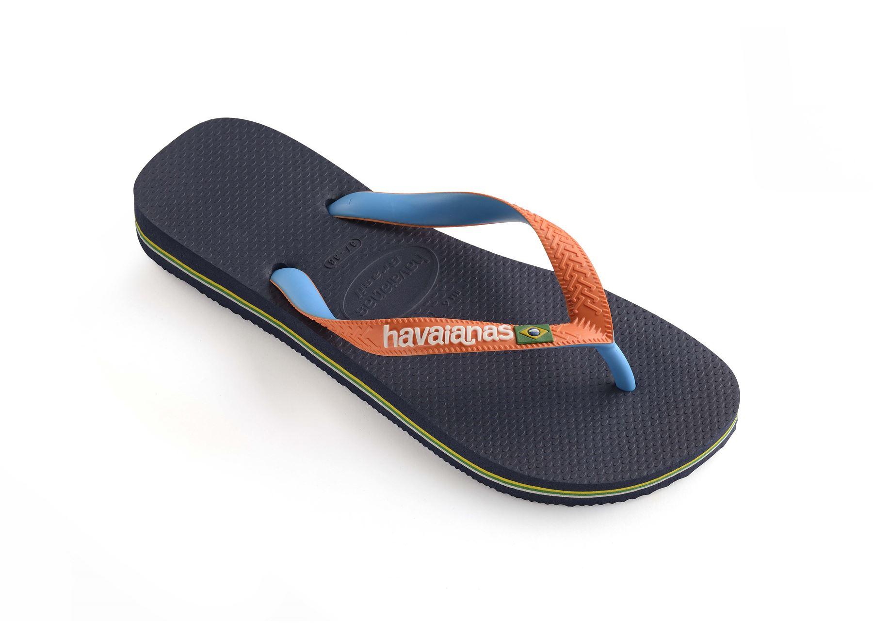 293c56b44be2 Havaianas Brasil Mix Flip Flops Summer Beach Thongs Sandals Wide ...