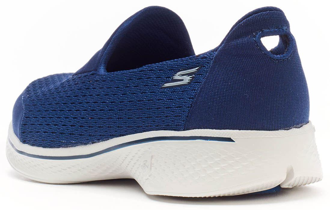 Skechers Gowalk Freude Wandern Blau, Damen Sportschuhe in Schwarz, Blau, Wandern Grau 15600 4360bb