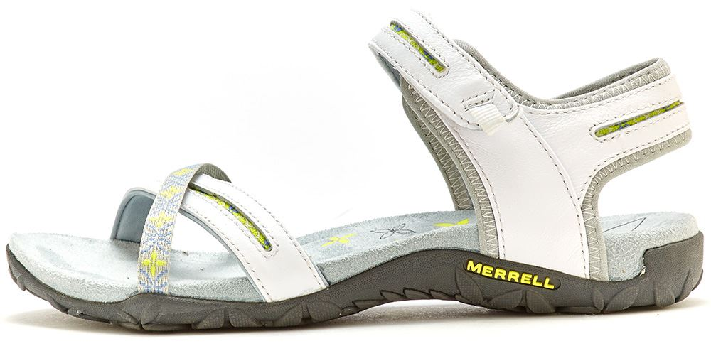Merrell Sandspur Terran Leder Lattice & Cross Damens Sandales in Leder Terran All Größes 82c76c