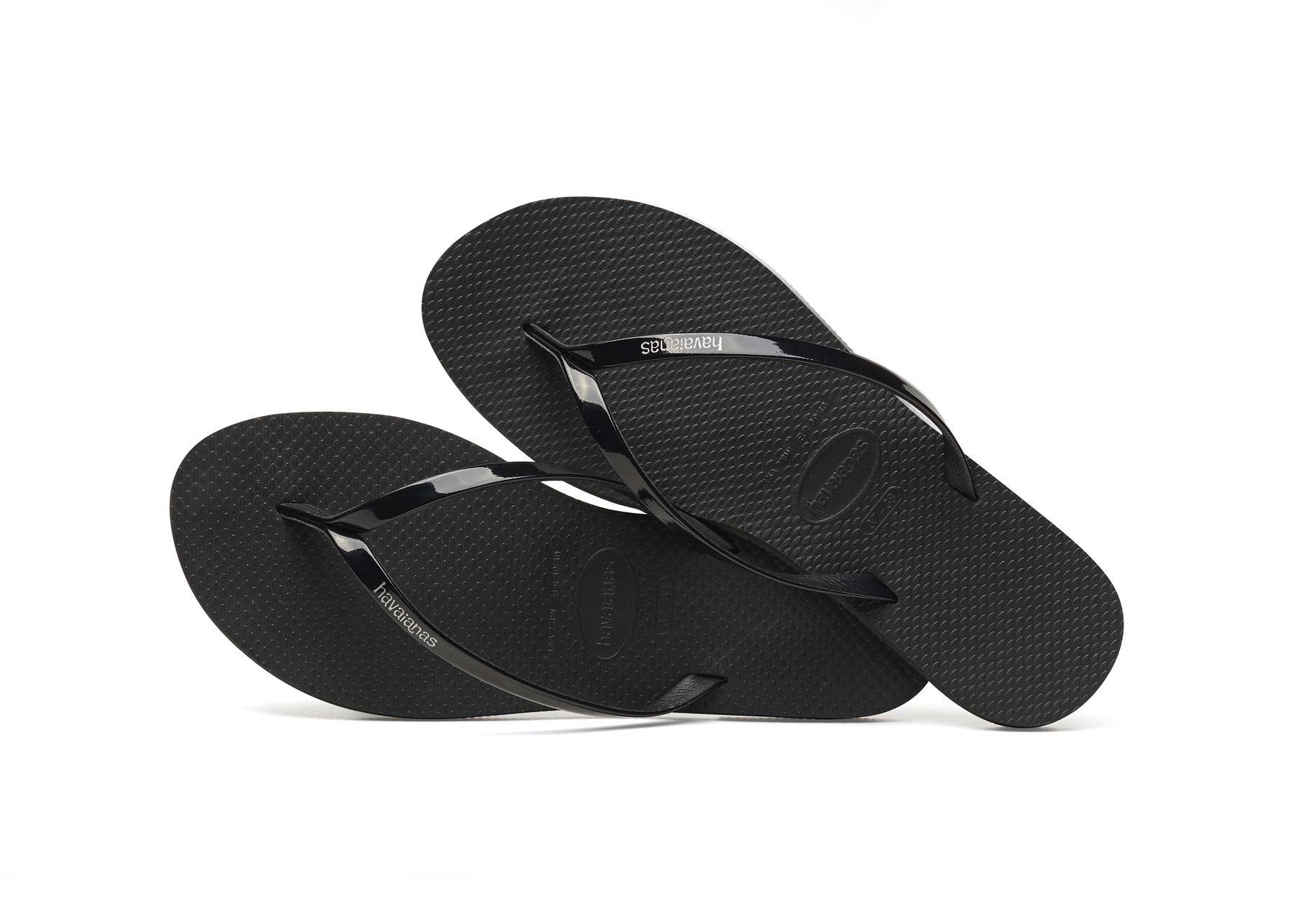 Havaianas-You-Metallic-Flip-Flops-Women-Summer-Beach-Sandals-Wide-Range-Colours miniature 5