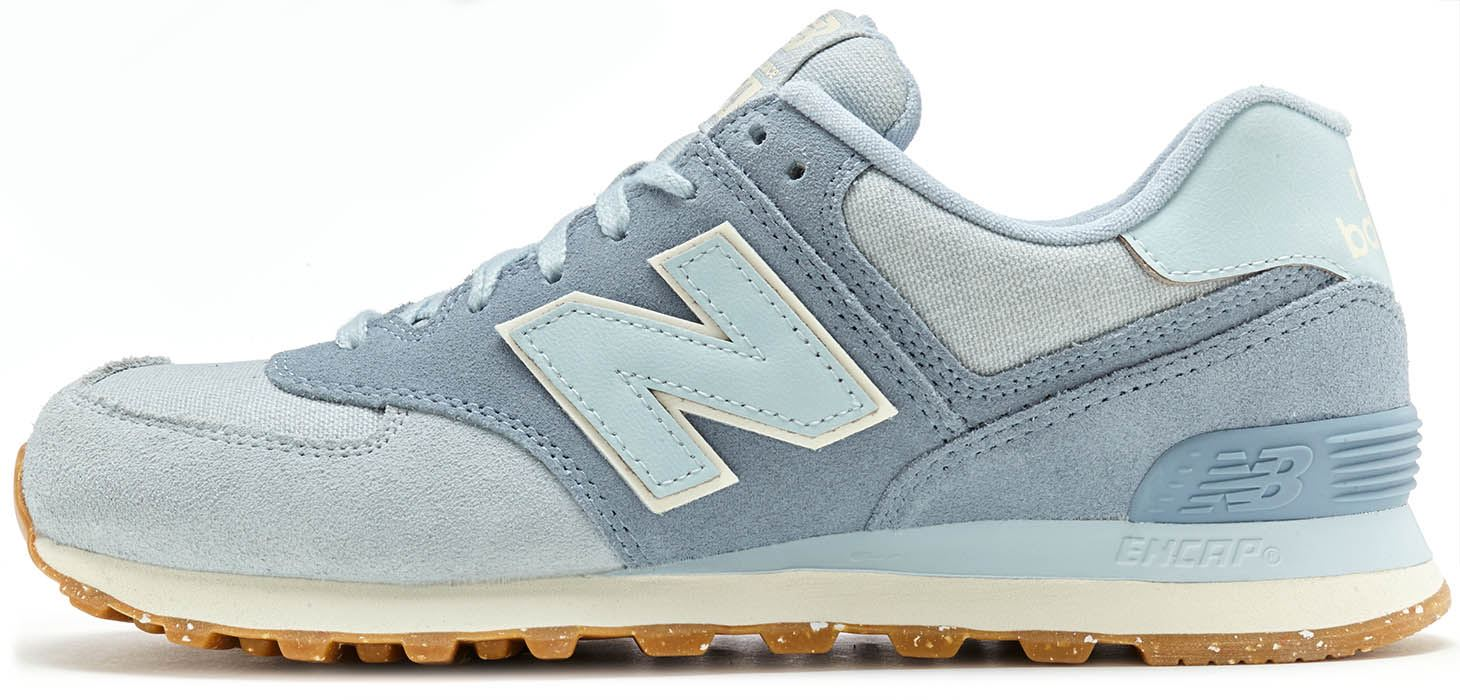 finest selection 1d3a8 5a0c5 Details about New Balance 574 Classic Suede & Textile Retro Trainers in All  Sizes