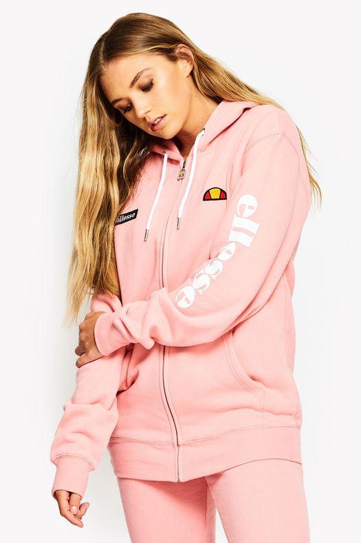 17b1455ed7 Details about Ellesse Serinatas Zip Hoody Sweat Top Tracksuit Women Jacket  SGS03134