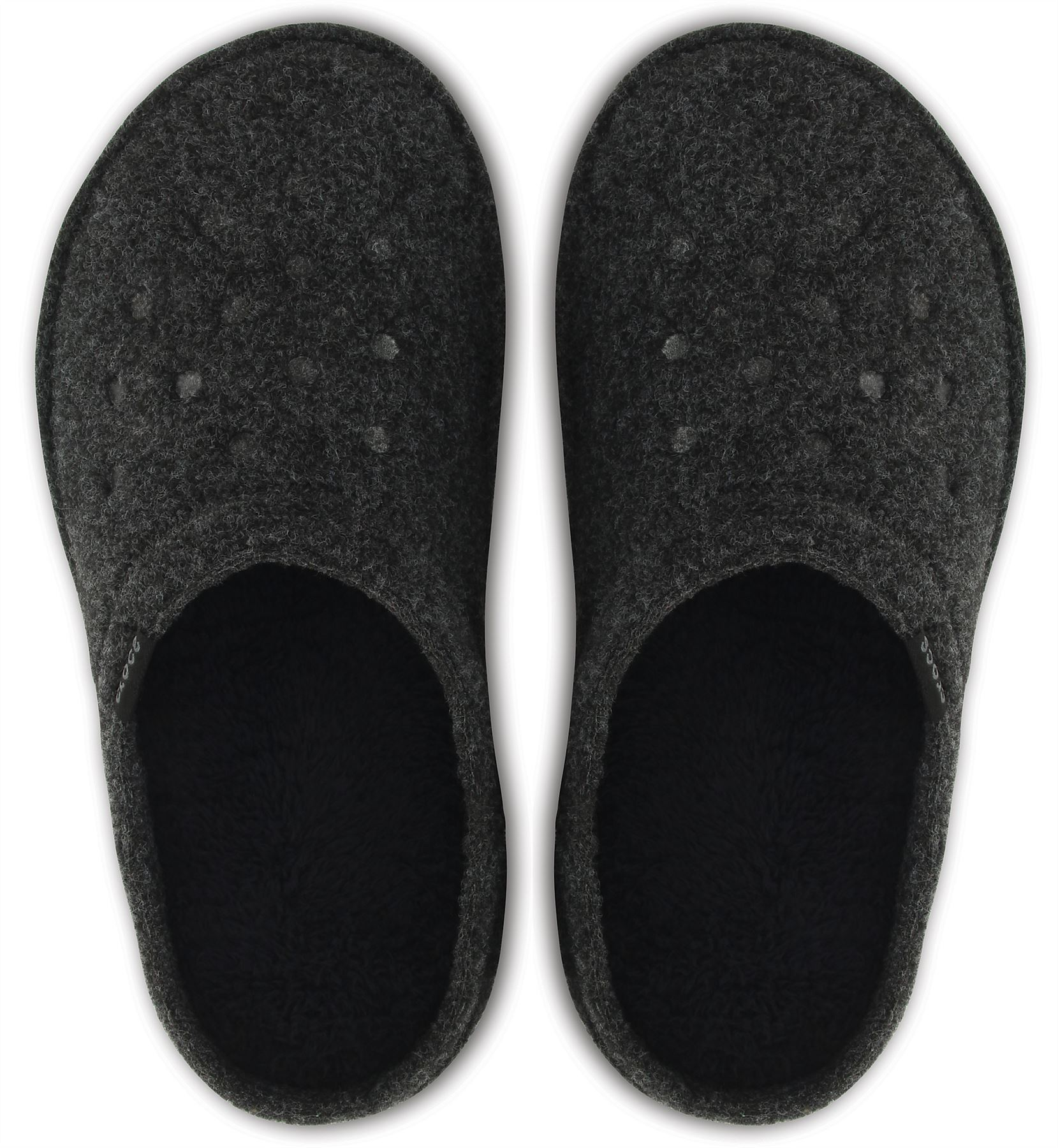 8f425a84d3e0 Crocs Classic Slipper Fleece Lined Roomy Fit Clogs Shoes in All ...