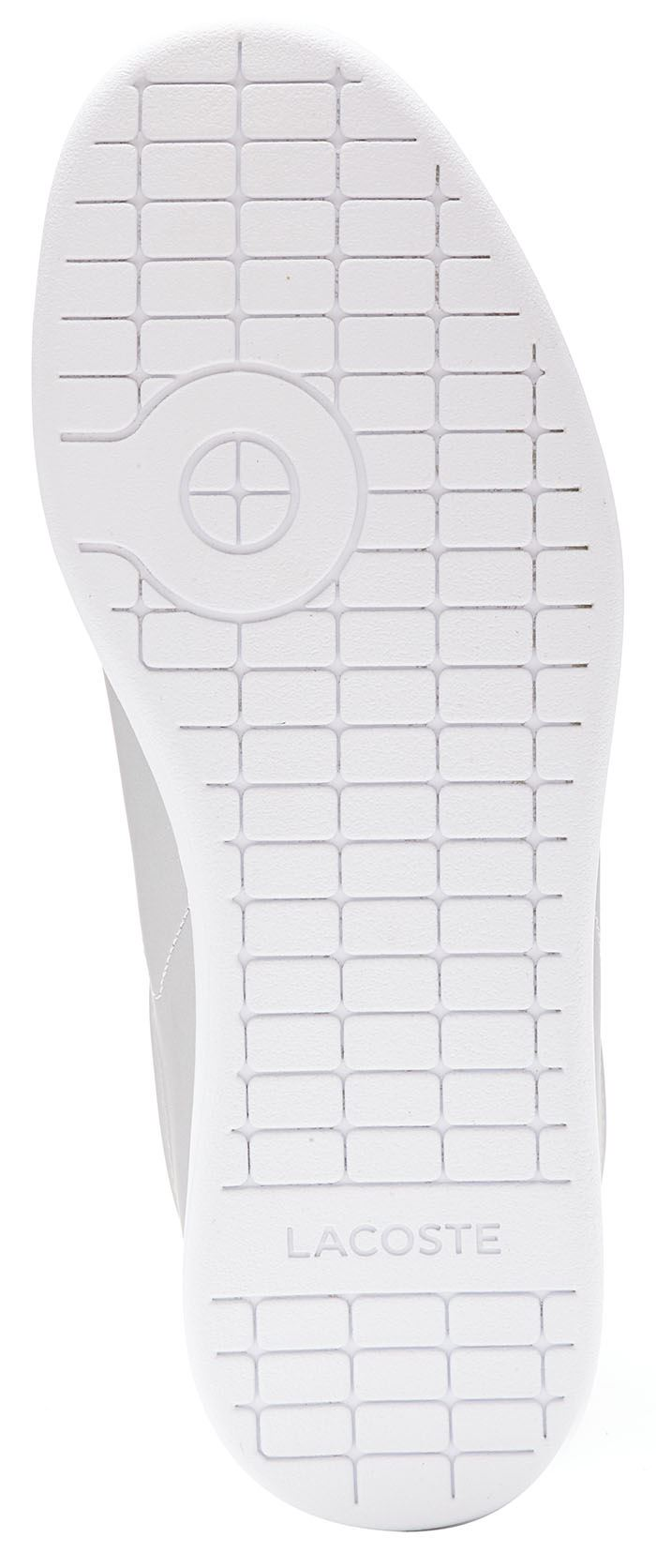 Lacoste Carnaby EVO 117 3 SPW Leather damen Trainers Trainers Trainers in grau & Rosa 733SPW1012 d6e239