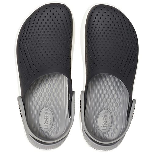 Crocs-Lite-Ride-Relaxed-Fit-Clog-Shoes-Sandals-Black-Grey-White-amp-Blue-204592 thumbnail 10