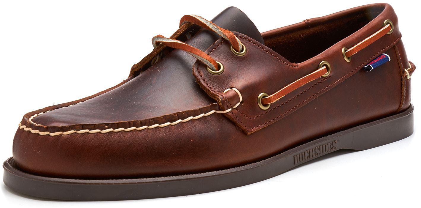 Sebago-Docksides-NBK-Suede-Boat-Deck-Shoes-in-Navy-Blue-amp-Coral-amp-Dark-Brown thumbnail 11