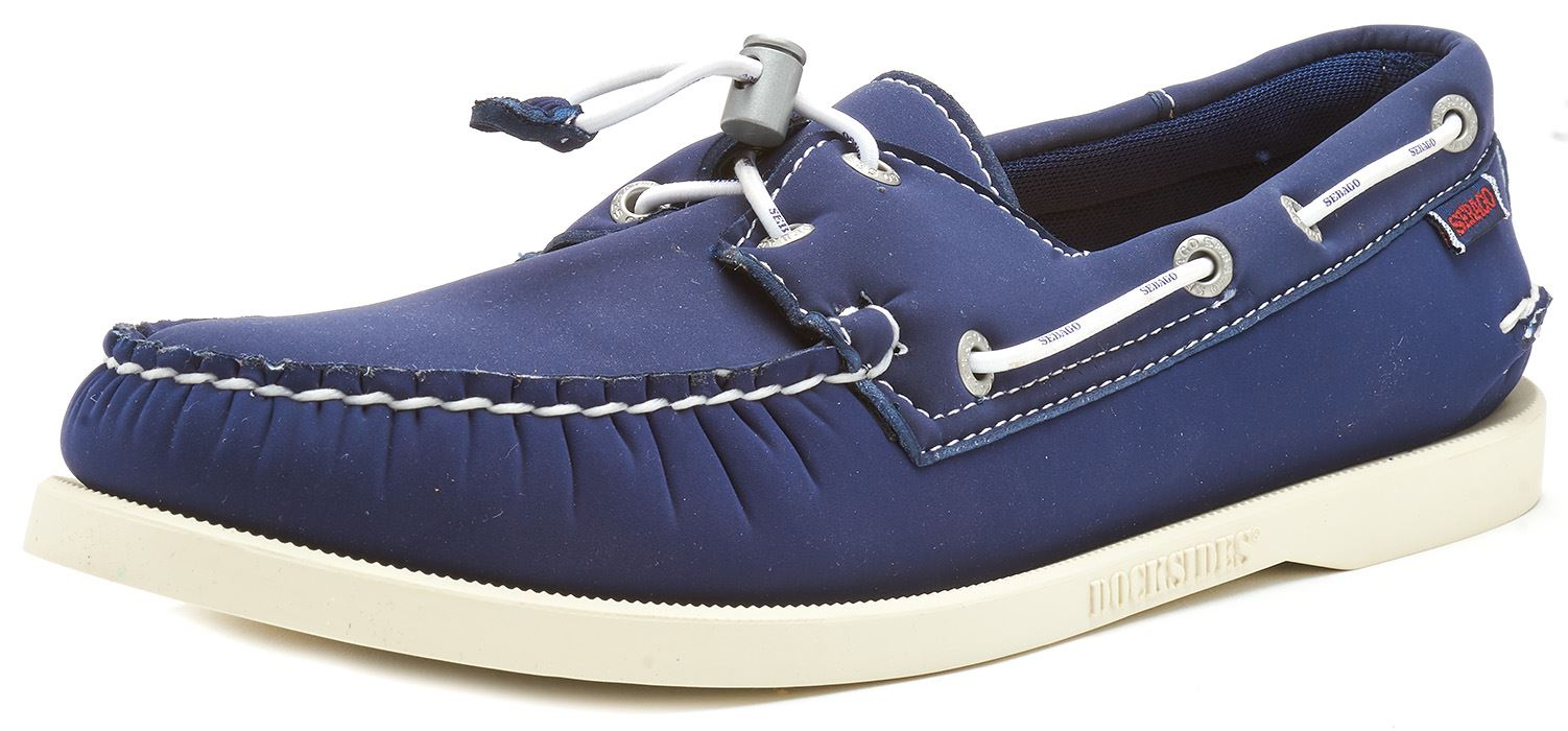 Sebago-Docksides-NBK-Suede-Boat-Deck-Shoes-in-Navy-Blue-amp-Coral-amp-Dark-Brown thumbnail 35