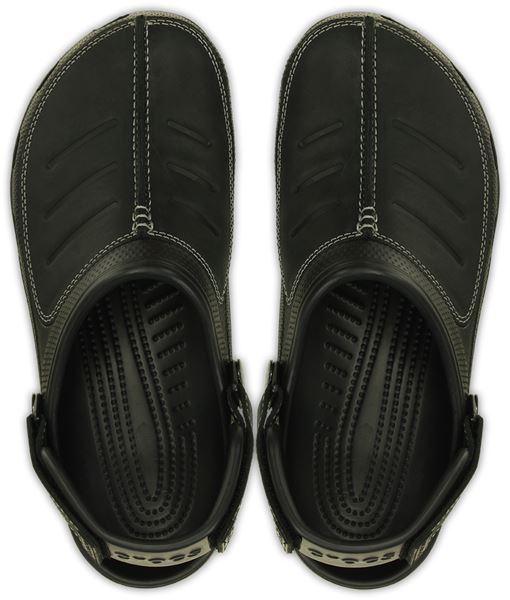 Crocs-Yukon-Mesa-Clog-Shoes-Sandals-in-Khaki-Espresso-Brown-amp-Navy-Blue-203261 thumbnail 5