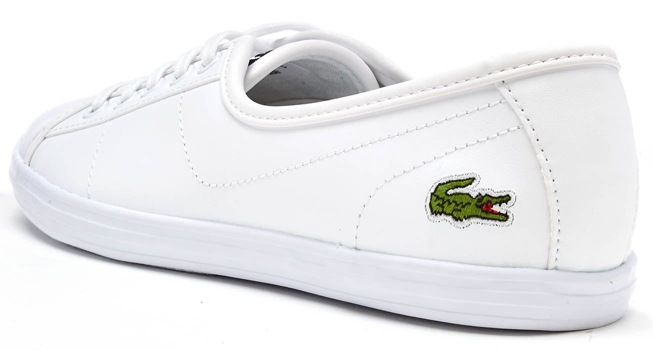 0657730c3 Lacoste Ziane Chunky 217 1 CAW Women Trainers in Black   White ...