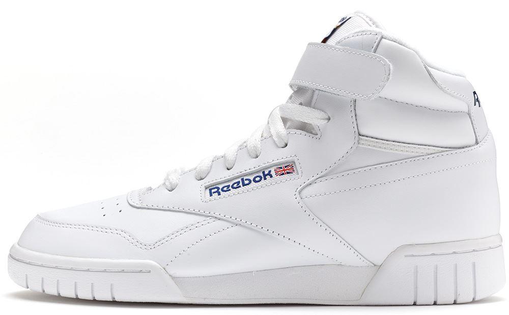 775e4ad58f7 Reebok Classic EXOFIT Ex-O-Fit Hi Trainers in White 3477