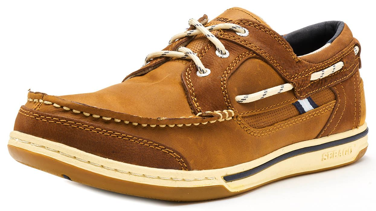 Sebago-Triton-Three-Eye-FGL-Suede-Boat-Deck-Shoes-in-Navy-Blue-amp-Brown-Cognac thumbnail 19