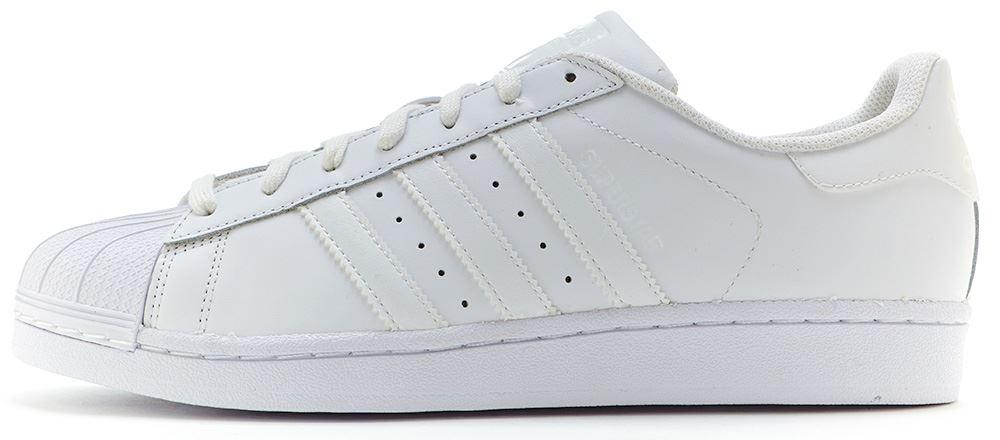zapatillas adidas cuero blancas