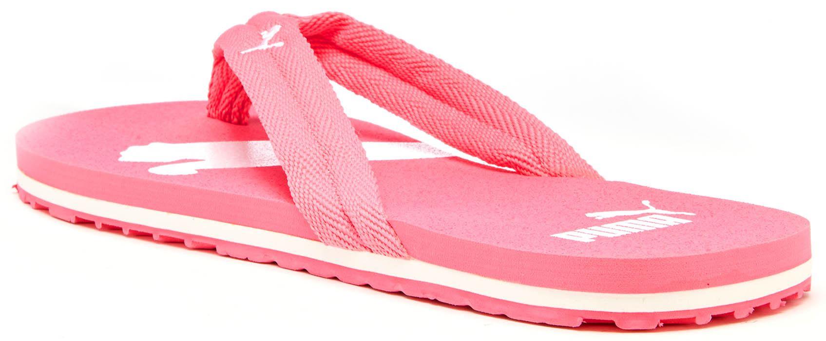 chanclas puma mujer rosa