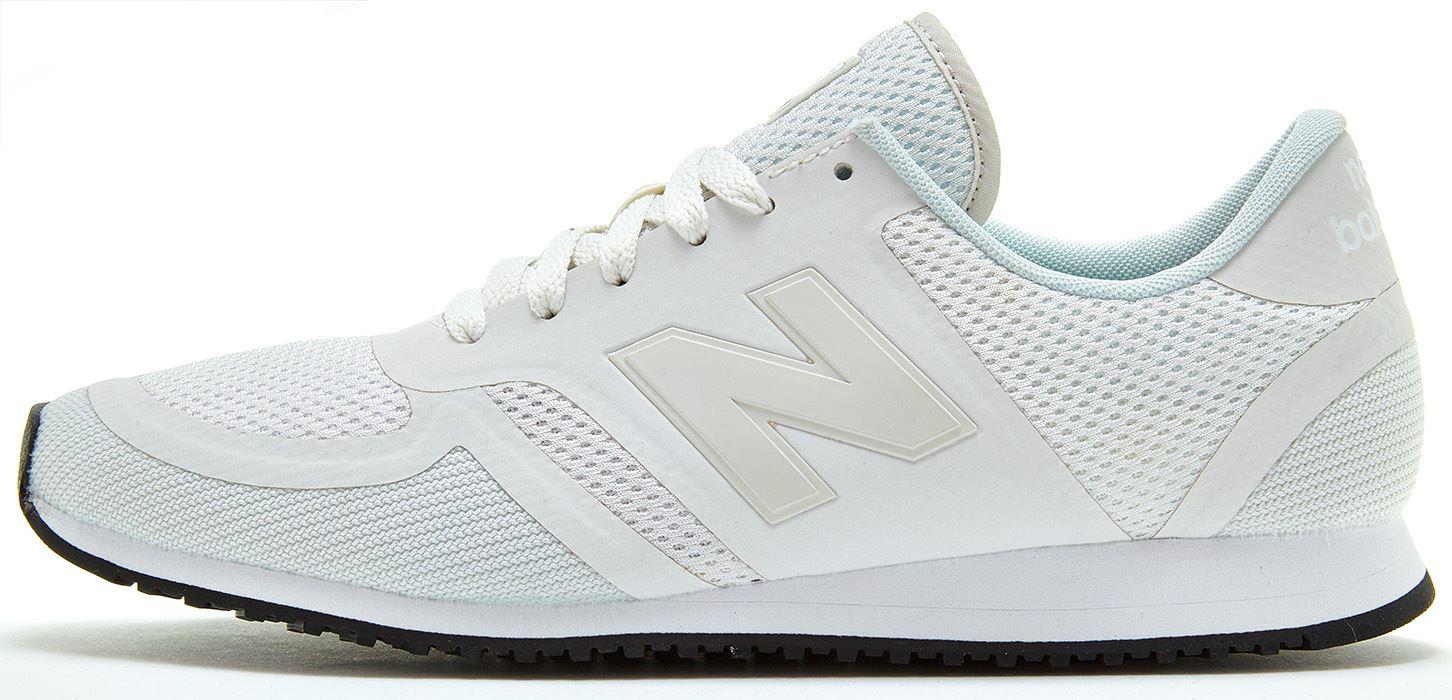 new balance 420 trainers white