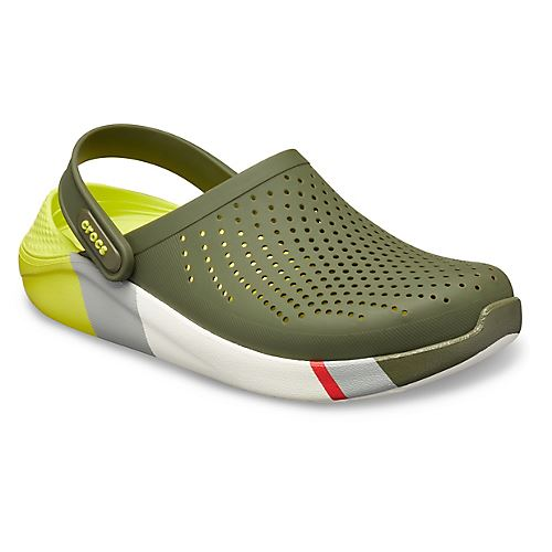 Crocs-Lite-Ride-Relaxed-Fit-Clog-Shoes-Sandals-Black-Grey-White-amp-Blue-204592 thumbnail 22