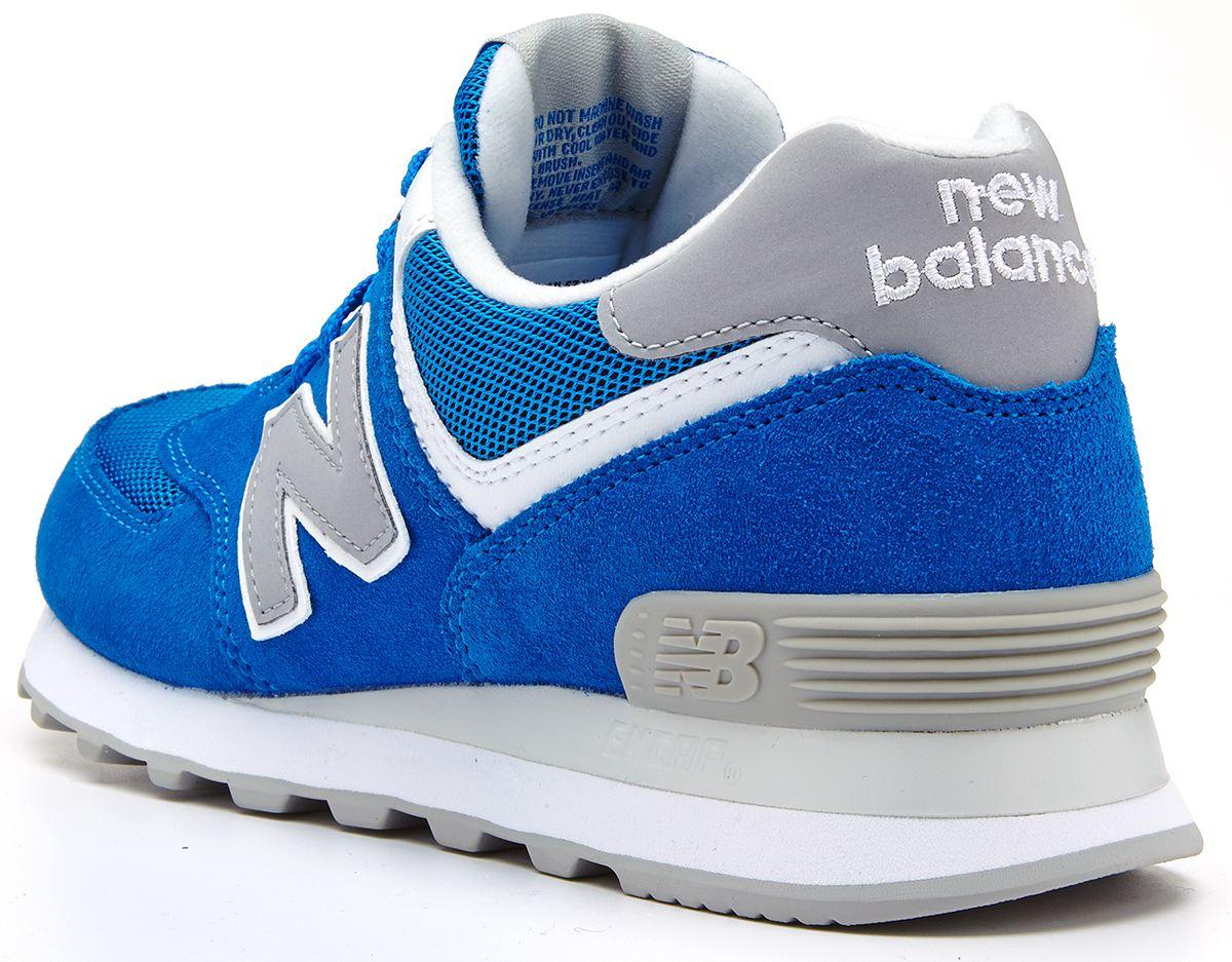 new balance 574 junior blue