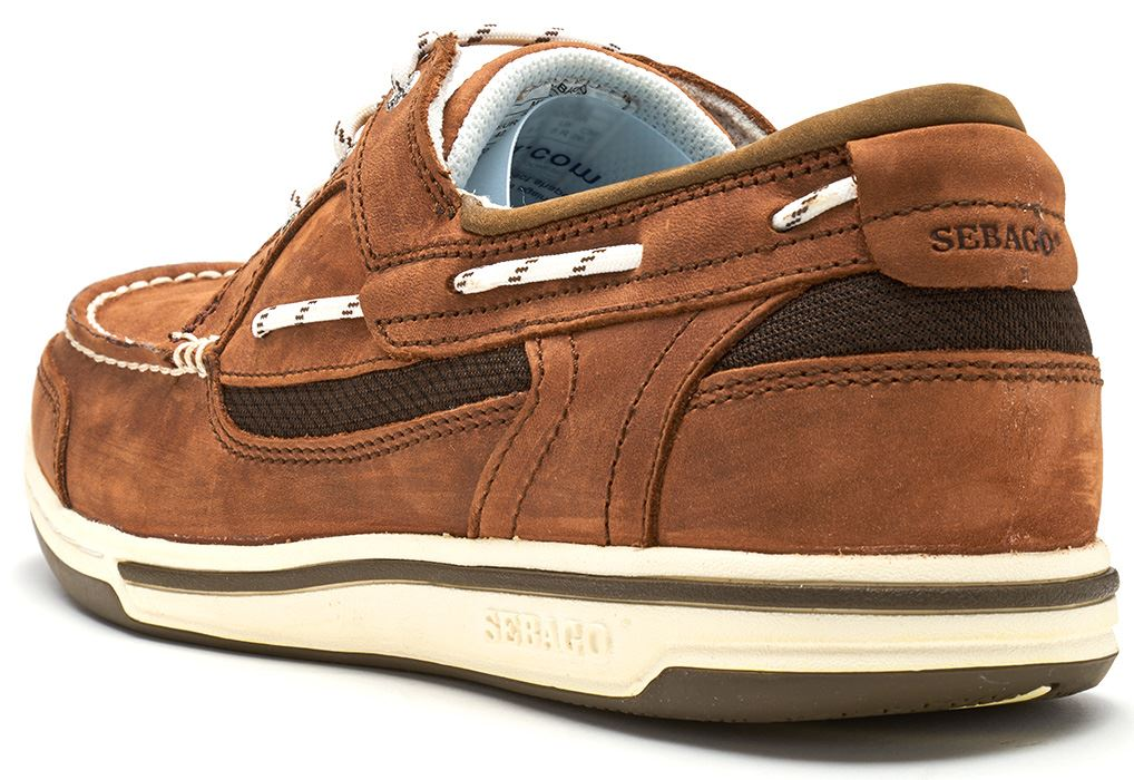 Sebago-Triton-Three-Eye-FGL-Suede-Boat-Deck-Shoes-in-Navy-Blue-amp-Brown-Cognac thumbnail 8