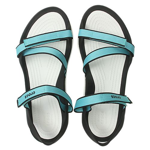 Crocs-Swiftwater-Webbing-Summer-Pool-Beach-Relaxed-Fit-Adjustable-Sandals thumbnail 13