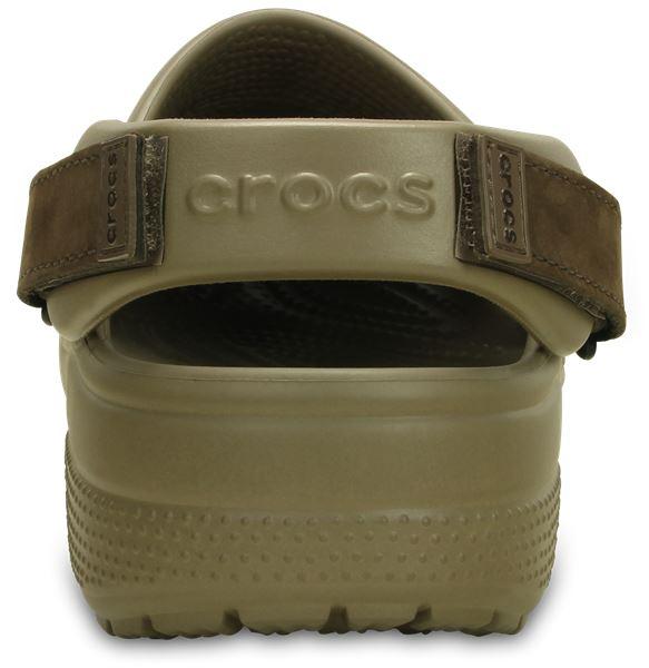Crocs-Yukon-Mesa-Clog-Shoes-Sandals-in-Khaki-Espresso-Brown-amp-Navy-Blue-203261 thumbnail 22