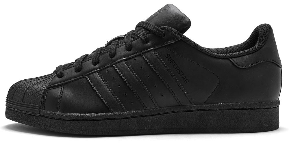 134e366f48a Adidas Originals Superstar Foundation Trainers in Core Black AF5666 ...