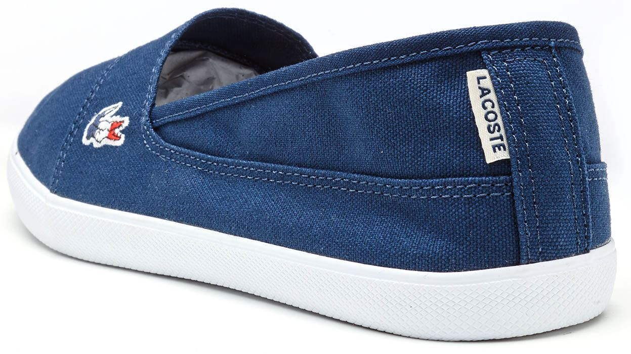 b4826405c Lacoste Marice 317 1 CAW Slip Ons Women Trainers in Navy Blue ...