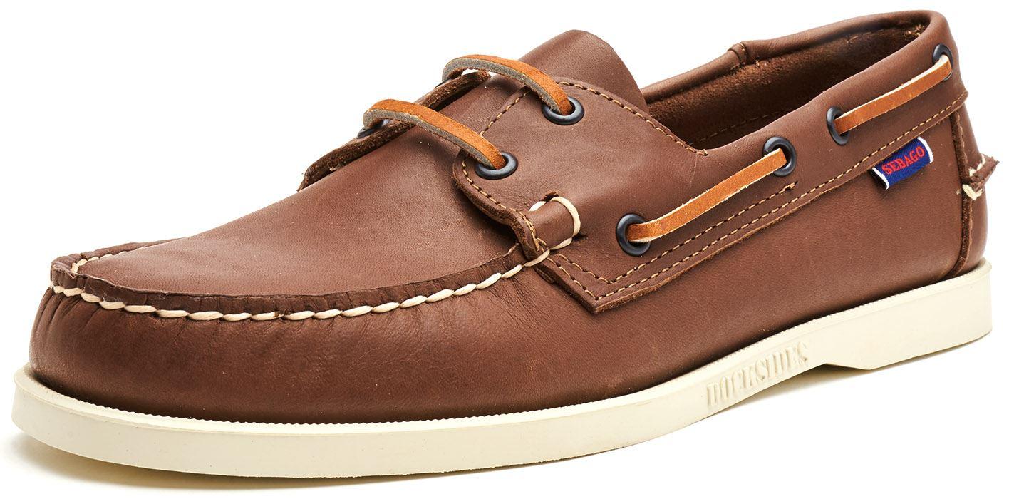 Sebago-Docksides-NBK-Suede-Boat-Deck-Shoes-in-Navy-Blue-amp-Coral-amp-Dark-Brown thumbnail 19