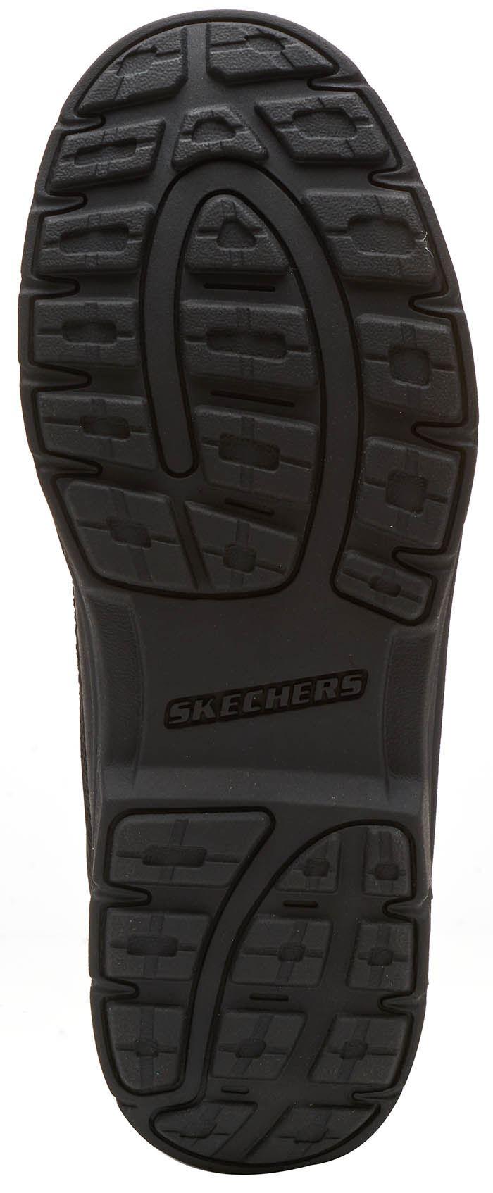 f056b738ca4 Skechers Segment Garnet Ankle Leather Memory Foam Boots in Brown ...