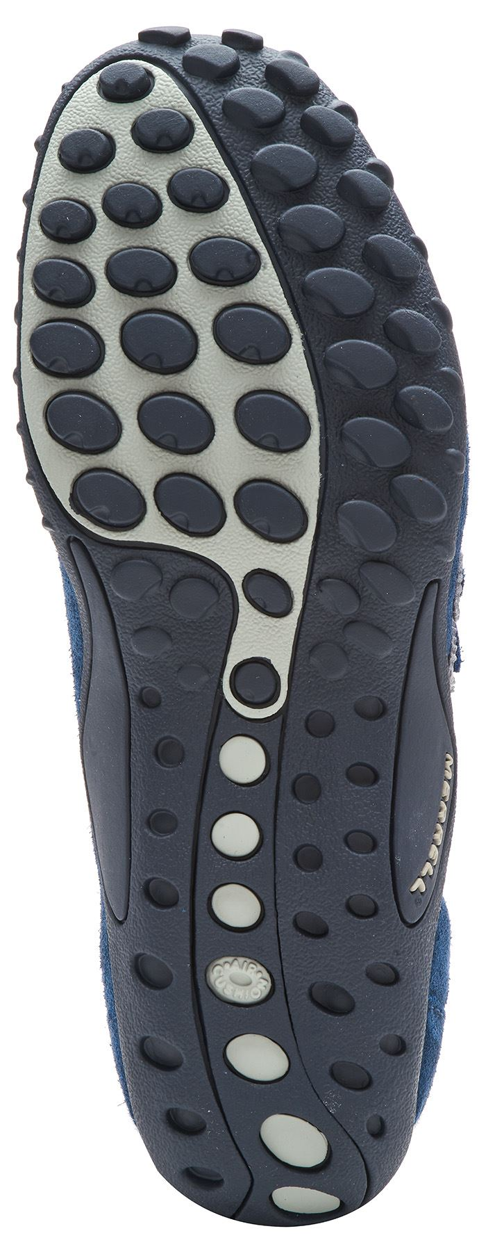 Merrell Sprint Blast Blast Blast Gamuza Zapatos Con Cordones Entrenadores en Humo Gris & Aster Azul 988f02