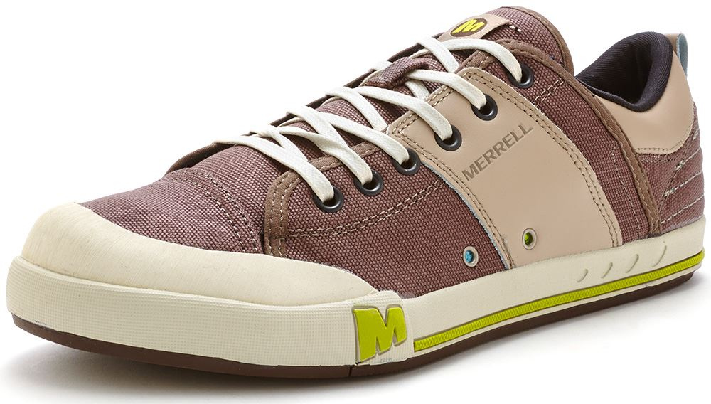 Mens-Merrell-Rant-Casual-Low-Canvas-Lace-Up-