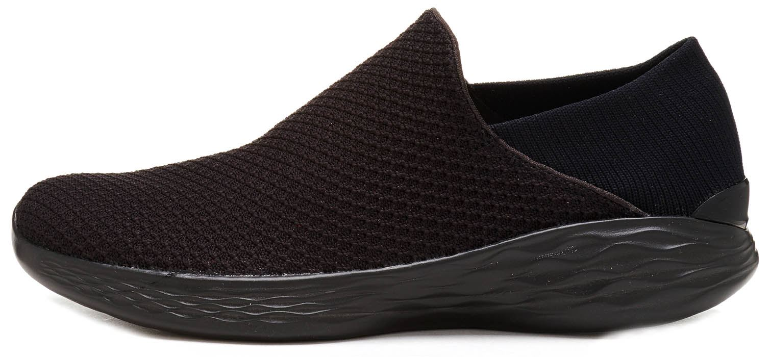 Skechers-Go-Walk-4-Pursuit-Trainers-in-Black-Grey-amp-Navy-14148-in-All-Sizes