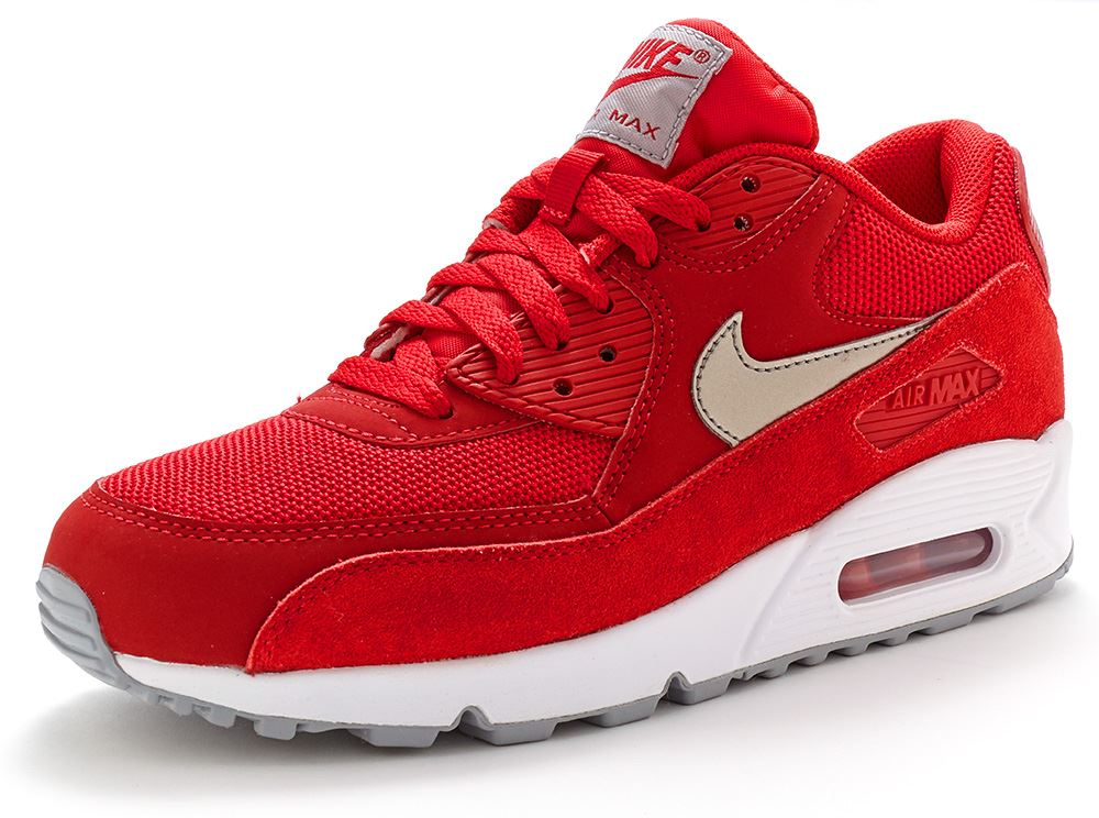 Mens Nike Air Max 90 Essential Premium Breathe Leather Suede Trainers All Sizes | eBay