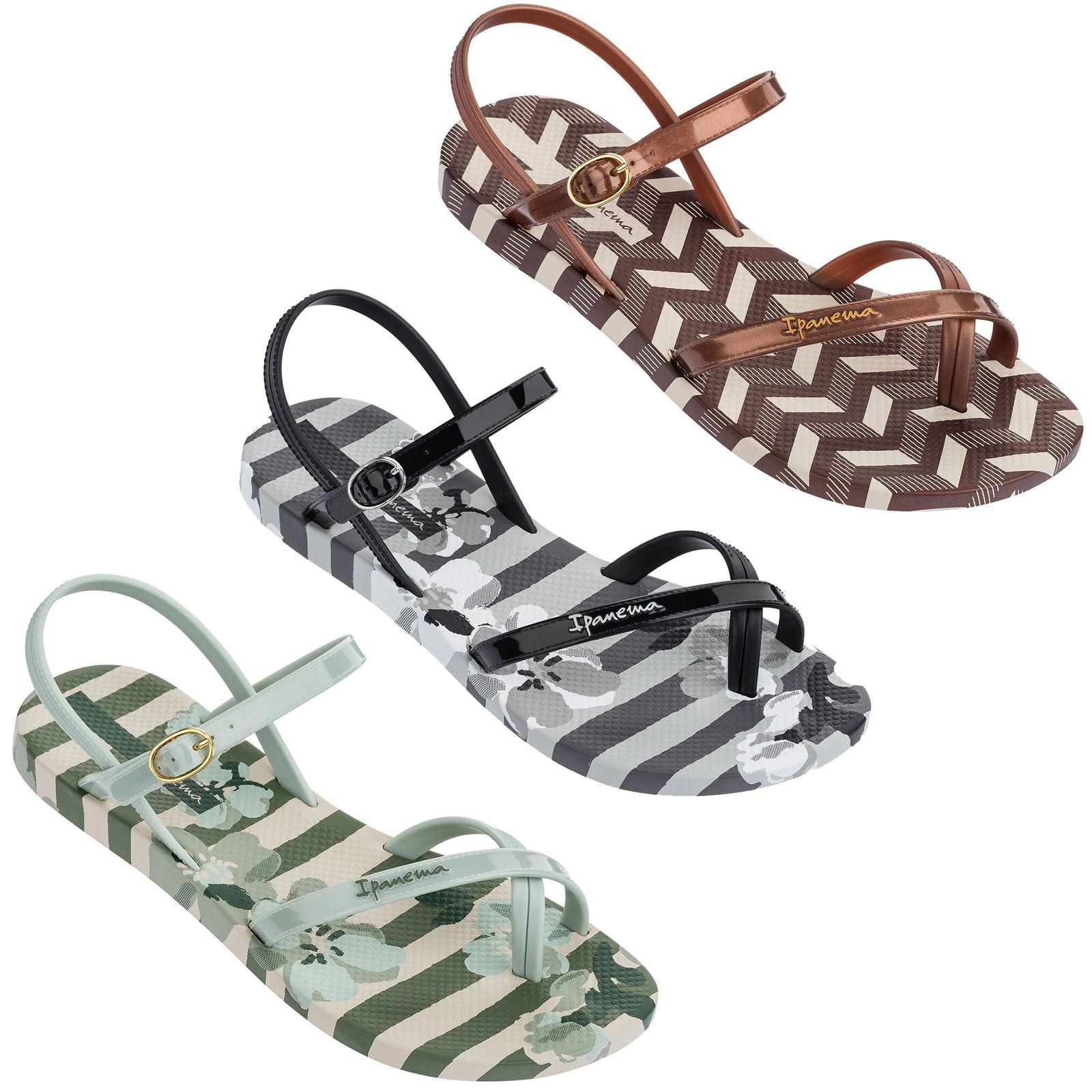 3f16925d6b78 Details about Ipanema Fashion Sandals in Black