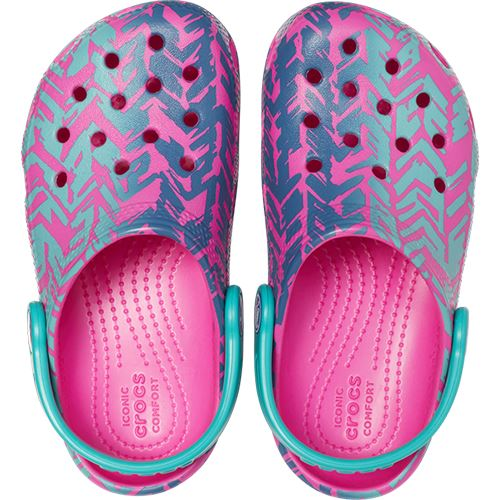 Crocs-Classic-Graphic-amp-Drew-Barrymore-Kids-Clogs-Shoes-Sandals-in-Wide-Colours thumbnail 28