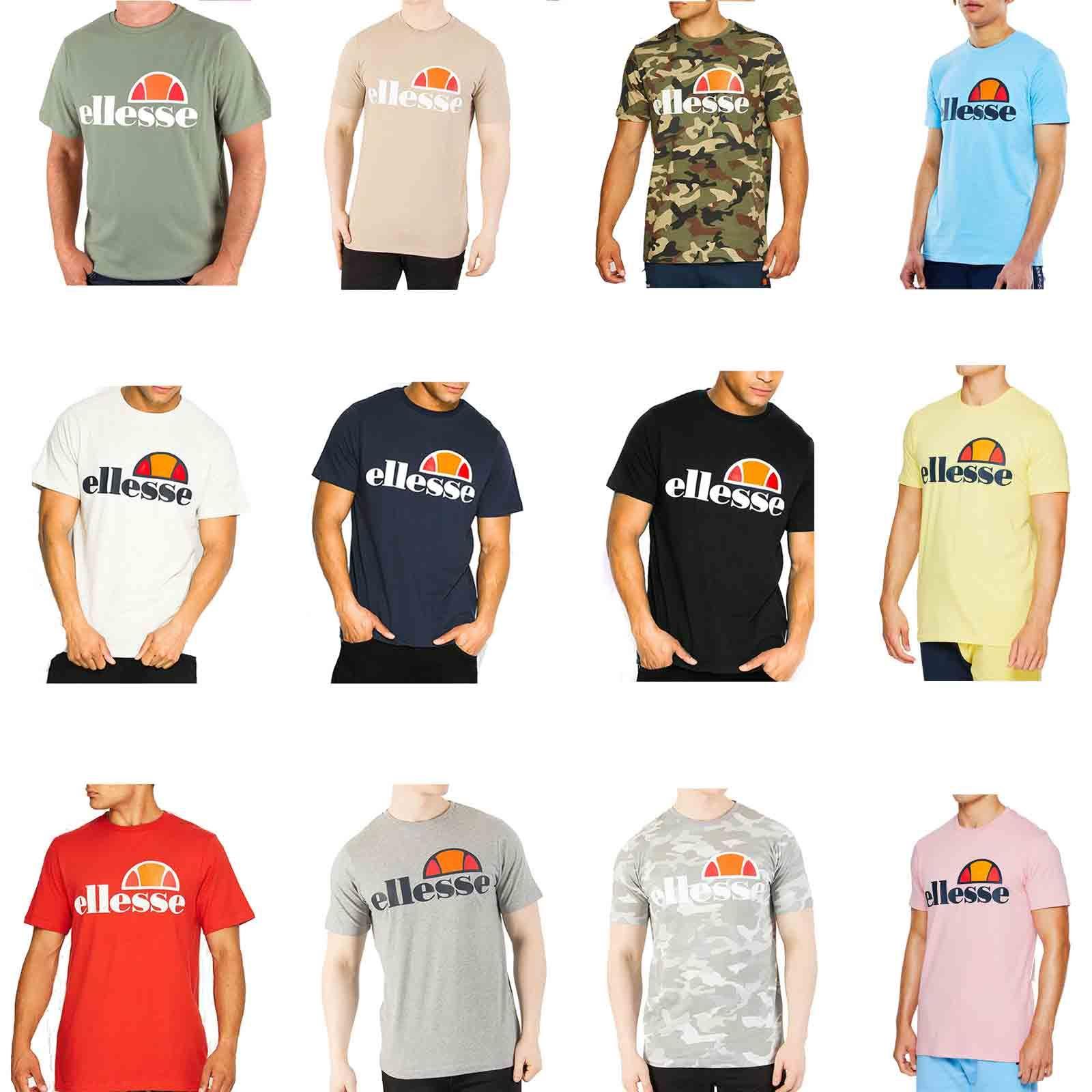 444758c7 Details about Ellesse Prado Men T-Shirt in Wide Range of Colours SHS01147