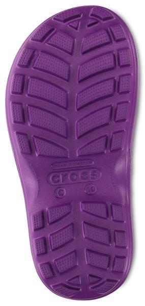 Crocs-Kids-Handle-It-Pluie-Botte-Wellies-en-Bleu-Vert-Rose-Gris-amp-Jaune-12803 miniature 45