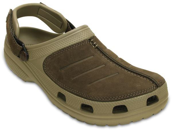 Crocs-Yukon-Mesa-Clog-Shoes-Sandals-in-Khaki-Espresso-Brown-amp-Navy-Blue-203261 thumbnail 21