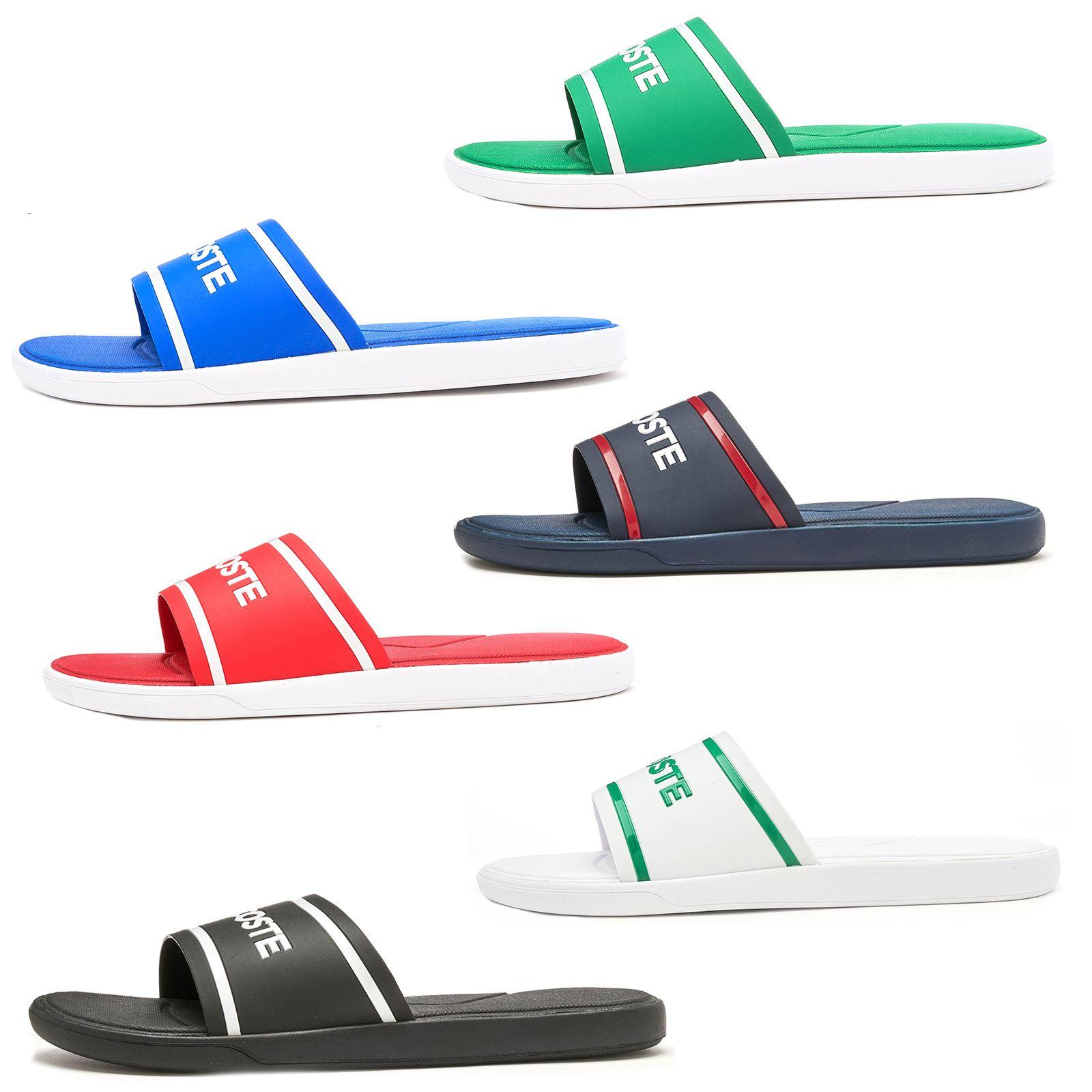 755c83202fb276 Details about Lacoste L.30 Slide Sandals 118   218 CAM in Wide Range of  Colours   Sizes